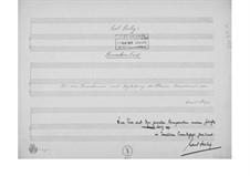 Trunkenheit für eine Tenorstimme mit Klavierbegleitung: Trunkenheit für eine Tenorstimme mit Klavierbegleitung by Ernst Levy