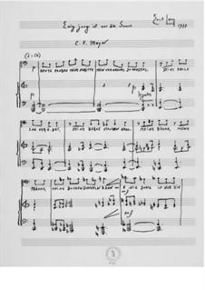 Ewig jung ist nur die Sonne für Bariton und Klavier: Ewig jung ist nur die Sonne für Bariton und Klavier by Ernst Levy