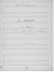 Im Blätterfallen für eine mittlere Stimme mit Begleitung des Klaviers: Im Blätterfallen für eine mittlere Stimme mit Begleitung des Klaviers by Ernst Levy