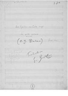 Das Mädchen am Teiche singt für eine Singstimme mit Klavierbegleitung: Das Mädchen am Teiche singt für eine Singstimme mit Klavierbegleitung by Ernst Levy