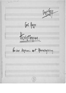Herbstbeginn für eine Altstimme mit Klavierbegleitung: Herbstbeginn für eine Altstimme mit Klavierbegleitung by Ernst Levy