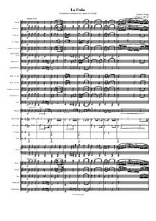 La Folia (Symphonic variations on a theme by Corelli): La Folia (Symphonic variations on a theme by Corelli) by Jordan Grigg