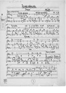 Ich möchte schlafen gehn für eine Singstimme mit Klavierbegleitung: Ich möchte schlafen gehn für eine Singstimme mit Klavierbegleitung by Ernst Levy