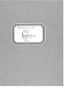 Sinfonie in D-Dur für Orchester, Orgel, gemischten Chor und Bariton: Sinfonie in D-Dur für Orchester, Orgel, gemischten Chor und Bariton by Ernst Levy