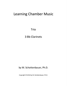 Learning Chamber Music: Clarinet trio by Michele Schottenbauer