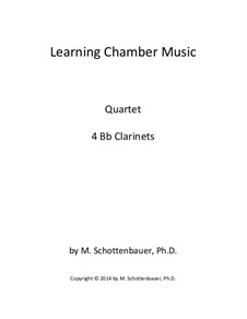 Learning Chamber Music: Clarinet quartet by Michele Schottenbauer