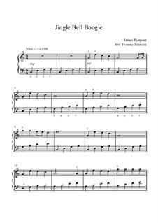 Jingle Bells, für Klavier: Für einen Interpreten by James Lord Pierpont