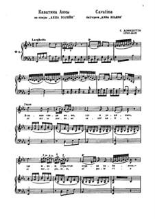 Anna Bolena: Al dolce guidami castel natio... by Gaetano Donizetti