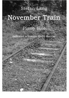 November Train: November Train by Stefan Lang