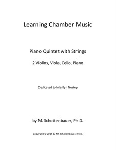 Learning Chamber Music: Piano quintet with strings by Michele Schottenbauer