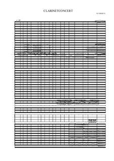 Grande concert pour Clarinette Bb, MVWV 368: Grande concert pour Clarinette Bb by Maurice Verheul
