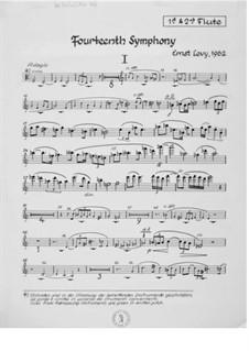 Sinfonie Nr.14: Stimmen by Ernst Levy