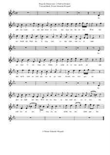 Magische Dimensionen, Op.39: Nr.3 Fluß der Ewigkeit by Werner Schneider-Wiegand