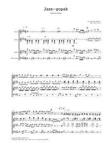 Jazz-gopak, Op.37 No.3: Jazz-gopak by Alexander Khodakovsky