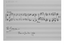 Stück zum Neuen Jahr (1970): Für Klavier by Ernst Levy