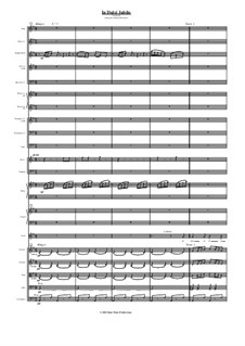 In süsser Freude: For choir and orchestra - study score by folklore