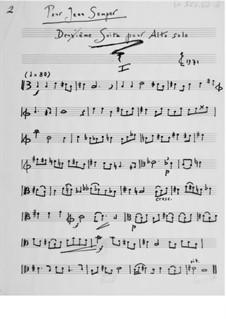 Suite für Bratsche Solo Nr.2: Für einen Interpreten by Ernst Levy