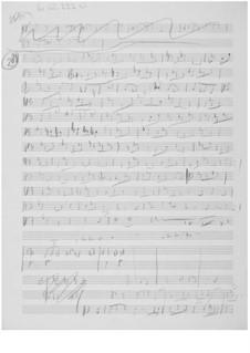 Suite für Bratsche Solo Nr.2: Skizzen by Ernst Levy