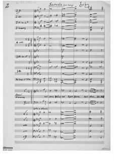 Spruch für Chor und Orgel: Für Männerchor und Orchester by Ernst Levy