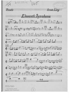 Sinfonie Nr.11: Stimmen by Ernst Levy