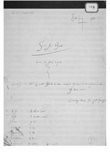 Orchestersuite über eine alte Volkshymne: Vollpartitur by Ernst Levy