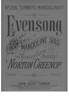 Evensong: Evensong by Norton Greenop