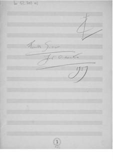 Suite für Orchester Nr.4: Skizzen by Ernst Levy