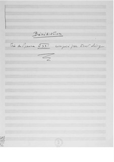 Der 121. Psalm (Chorpartitur): Fragment für Singstimme und Orgel by Ernst Levy