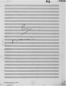 Prélude pour 'Orchestre d'Odeon': Vollpartitur by Ernst Levy