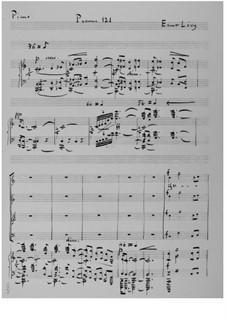 Der 121. Psalm (Chorpartitur): Klavierauszug mit Singstimmen by Ernst Levy