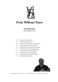 Frets Without Tears: Chapter One - First Things First by Johann Sebastian Bach, Henry Purcell, folklore, Valentin Haussmann, Vincent Coley