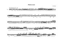 Musica sacra for Violin solo No.2, MVWV 807: Musica sacra for Violin solo No.2 by Maurice Verheul