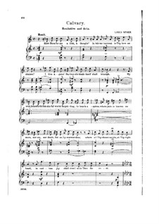 Calvary: Recitative and Aria 'When This Scene of Trouble Closes' by Louis Spohr