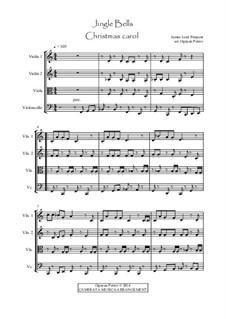 Jingle Bells: Für Streichquartett by James Lord Pierpont