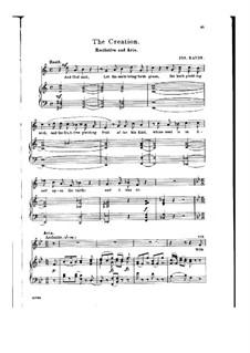 Die Schöpfung, Hob.XXI/2: With Verdure Clad the Fields Appear by Joseph Haydn