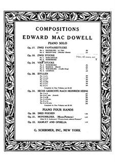 Zwei Stücke, Op.18: Nr.2 Humoreske by Edward MacDowell