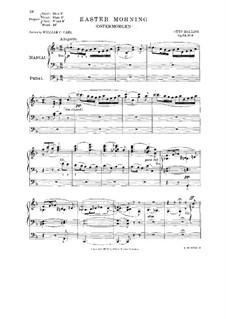 Christi Død og Opstandelse (Der Tod und die Auferstehung Christi), Op.54: Nr.3 Ostermorgen by Otto Malling