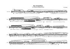 Lux et tenebrae for Bass flute, MVWV 812: Lux et tenebrae for Bass flute by Maurice Verheul
