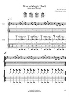 Drowsy Maggie: Für Gitarren by folklore