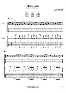 Morrison Jig: Für Gitarren by folklore