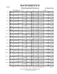Bach Sequence: Marching band by Johann Sebastian Bach