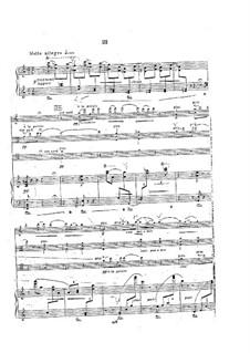 Klavierquartett in a-Moll, Op.31: Teil III by Georgy Catoire