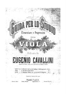 Viola Method: Book III Concert Pieces by Eugenio Cavallini