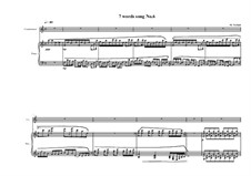 7 words song for countertenor and piano: Song No.6, MVWV 320 by Maurice Verheul