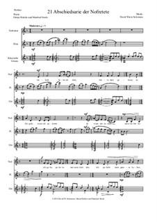 Aton: Teil 21 - Abschiedsarie der Nofretete (soprano, flute, guitar) by David W Solomons