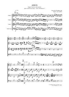 Adios, Op.40 No.1: Adios by Alexander Khodakovsky