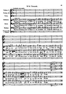 Der vierjährige Posten, D.190: Nr.3 Terzett by Franz Schubert