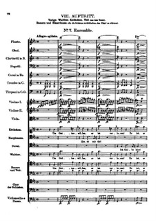 Der vierjährige Posten, D.190: Nr.7 Ensemble by Franz Schubert