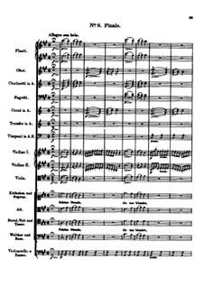 Der vierjährige Posten, D.190: Nr.8 Finale by Franz Schubert