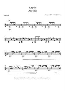 Angels: Für Gitarre by Ksenia Nemera